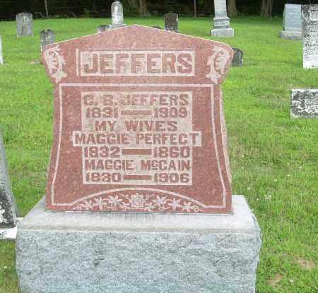 JEFFERS, MAGGIE - Athens County, Ohio | MAGGIE JEFFERS - Ohio Gravestone Photos