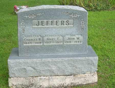 JEFFERS, MARY E - Athens County, Ohio | MARY E JEFFERS - Ohio Gravestone Photos