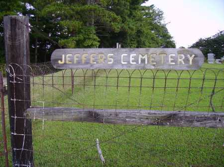 JEFFERS CEMETERY, SIGN - Athens County, Ohio   SIGN JEFFERS CEMETERY - Ohio Gravestone Photos