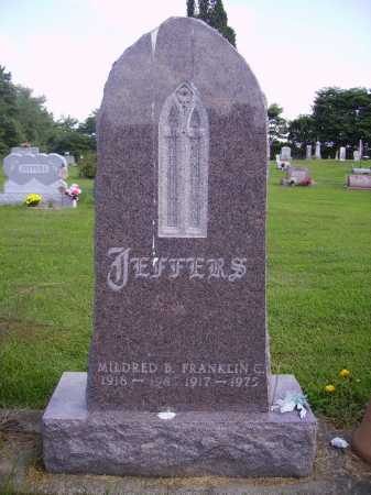JEFFERS, MILDRED B. - Athens County, Ohio | MILDRED B. JEFFERS - Ohio Gravestone Photos
