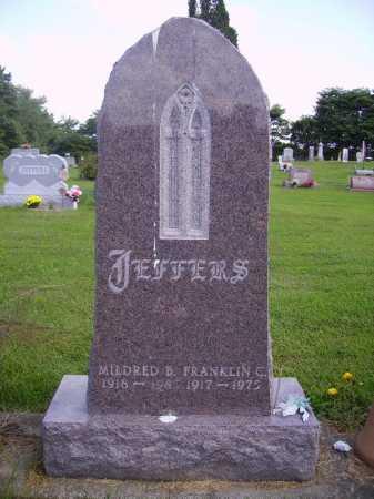 JEFFERS, FRANKLIN C. - Athens County, Ohio | FRANKLIN C. JEFFERS - Ohio Gravestone Photos