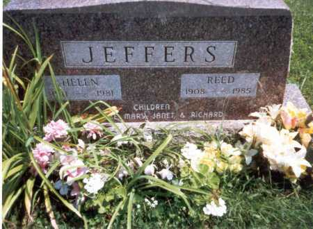 JEFFERS, HELEN - Athens County, Ohio | HELEN JEFFERS - Ohio Gravestone Photos