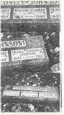 JOHNSON CONLEY, LENA - Athens County, Ohio | LENA JOHNSON CONLEY - Ohio Gravestone Photos