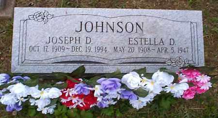 JOHNSON, JOSEPH D. - Athens County, Ohio | JOSEPH D. JOHNSON - Ohio Gravestone Photos