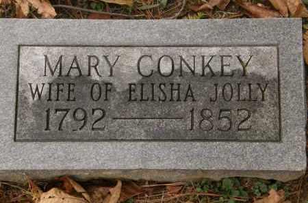 CONKEY JOLLY, MARY - Athens County, Ohio | MARY CONKEY JOLLY - Ohio Gravestone Photos