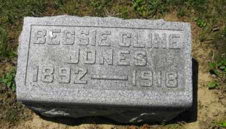 JONES, BESSIE - Athens County, Ohio | BESSIE JONES - Ohio Gravestone Photos