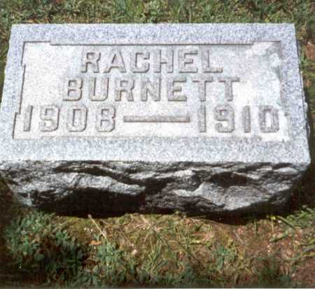 JONES, RACHEL BURNETT - Athens County, Ohio   RACHEL BURNETT JONES - Ohio Gravestone Photos