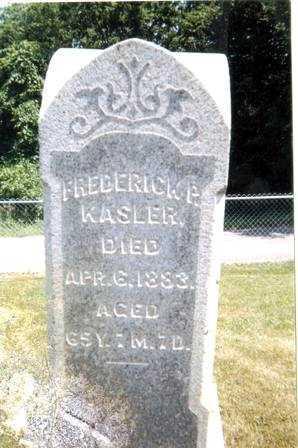 KASLER, FREDERICK P. - Athens County, Ohio | FREDERICK P. KASLER - Ohio Gravestone Photos