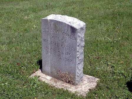MINKLER KASLER, SUSANNA - Athens County, Ohio | SUSANNA MINKLER KASLER - Ohio Gravestone Photos