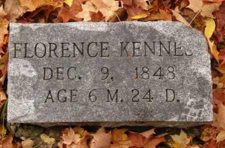 KENNES?, FLORENCE - Athens County, Ohio | FLORENCE KENNES? - Ohio Gravestone Photos