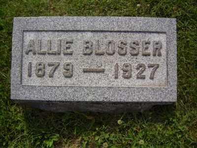 BLOSSER KENNEDY, ALLIE - Athens County, Ohio   ALLIE BLOSSER KENNEDY - Ohio Gravestone Photos
