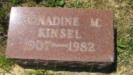 KINSEL, BONADINE M. - Athens County, Ohio | BONADINE M. KINSEL - Ohio Gravestone Photos