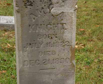 KNIGHT, AMY A. - Athens County, Ohio | AMY A. KNIGHT - Ohio Gravestone Photos