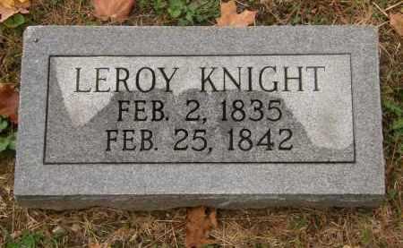 KNIGHT, LEROY - Athens County, Ohio   LEROY KNIGHT - Ohio Gravestone Photos