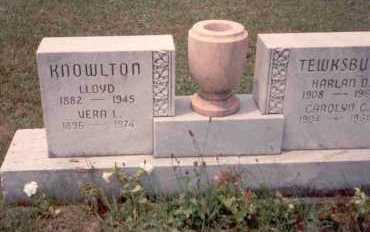 TEWKSBURY, HARLAN O. - Athens County, Ohio | HARLAN O. TEWKSBURY - Ohio Gravestone Photos