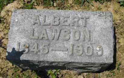LAWSON, ALBERT - Athens County, Ohio | ALBERT LAWSON - Ohio Gravestone Photos