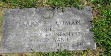 LAZIMAN, HARRY F. - Athens County, Ohio | HARRY F. LAZIMAN - Ohio Gravestone Photos