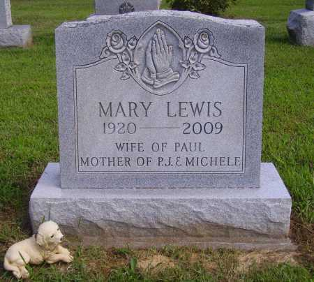 JEFFERS LEWIS, MARY - Athens County, Ohio | MARY JEFFERS LEWIS - Ohio Gravestone Photos