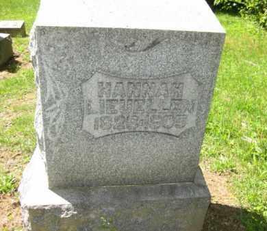 LIEUELLEN, HANNAH - Athens County, Ohio   HANNAH LIEUELLEN - Ohio Gravestone Photos