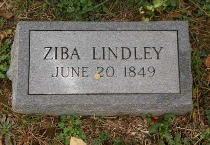 LINDLEY, ZIBA - Athens County, Ohio | ZIBA LINDLEY - Ohio Gravestone Photos