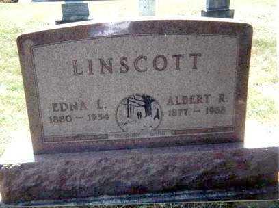 LINSCOTT, EDNA - Athens County, Ohio | EDNA LINSCOTT - Ohio Gravestone Photos