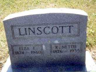 LINSCOTT, R. NETTIE - Athens County, Ohio | R. NETTIE LINSCOTT - Ohio Gravestone Photos