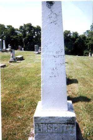 LINSCOTT, SARAH - Athens County, Ohio | SARAH LINSCOTT - Ohio Gravestone Photos