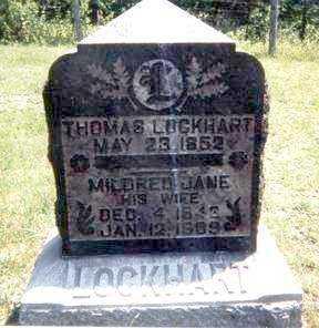 ECKARD LOCKHART, MILDRED JANE GASTON - Athens County, Ohio | MILDRED JANE GASTON ECKARD LOCKHART - Ohio Gravestone Photos