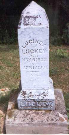 LUCKEY, LUCINDA - Athens County, Ohio | LUCINDA LUCKEY - Ohio Gravestone Photos