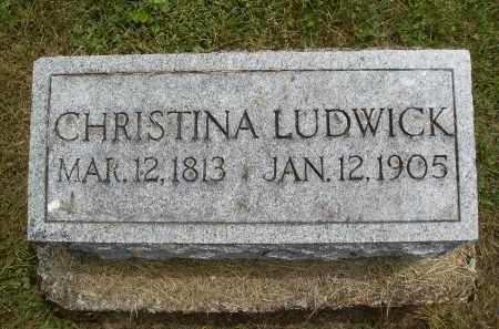 LUDWICK, CHRISTINA - Athens County, Ohio | CHRISTINA LUDWICK - Ohio Gravestone Photos
