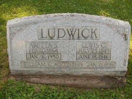 SEMONS LUDWICK, ARRETTA - Athens County, Ohio | ARRETTA SEMONS LUDWICK - Ohio Gravestone Photos