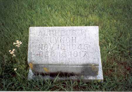 LYNCH, ALPHEUS W. - Athens County, Ohio | ALPHEUS W. LYNCH - Ohio Gravestone Photos