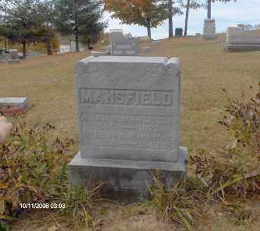 MANSFIELD, HIRAM - Athens County, Ohio | HIRAM MANSFIELD - Ohio Gravestone Photos