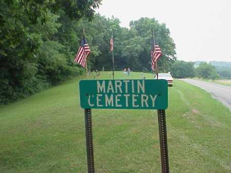 MARTIN, CEMETERY SIGN AND OVERVIEW - Athens County, Ohio | CEMETERY SIGN AND OVERVIEW MARTIN - Ohio Gravestone Photos