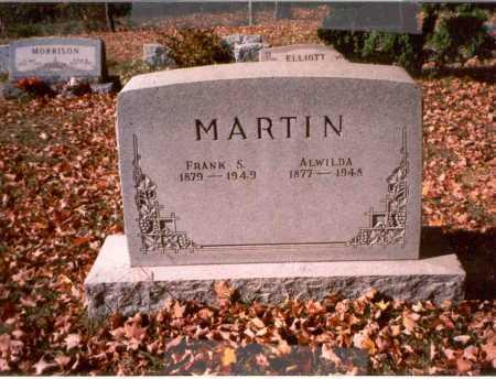 WOODYARD MARTIN, ALWILDA - Athens County, Ohio | ALWILDA WOODYARD MARTIN - Ohio Gravestone Photos