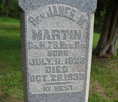 MARTIN, JAMES W - Athens County, Ohio   JAMES W MARTIN - Ohio Gravestone Photos