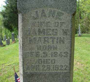 GIBSON MARTIN, MARY JANE - Athens County, Ohio | MARY JANE GIBSON MARTIN - Ohio Gravestone Photos