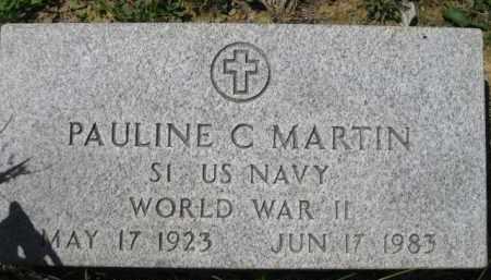MARTIN, PAULINE C. - Athens County, Ohio   PAULINE C. MARTIN - Ohio Gravestone Photos