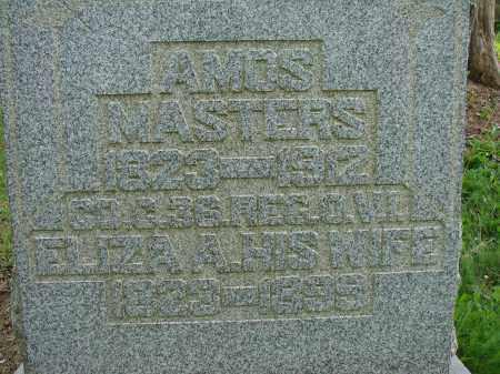 MASTERS, AMOS - Athens County, Ohio   AMOS MASTERS - Ohio Gravestone Photos