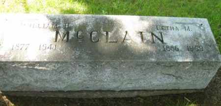 MC CLAIN, WILLIAM H. - Athens County, Ohio | WILLIAM H. MC CLAIN - Ohio Gravestone Photos
