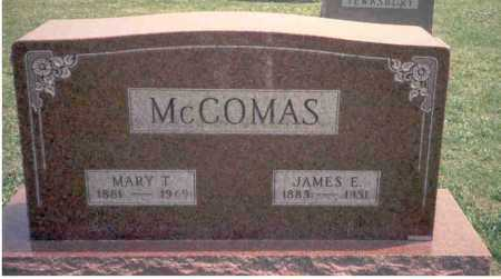 MCCOMAS, JAMES E. - Athens County, Ohio | JAMES E. MCCOMAS - Ohio Gravestone Photos