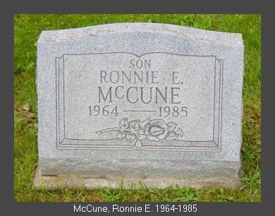 MCCUNE, ROBERT EUGENE - Athens County, Ohio | ROBERT EUGENE MCCUNE - Ohio Gravestone Photos