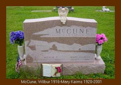 MCCUNE, WILBUR C. - Athens County, Ohio | WILBUR C. MCCUNE - Ohio Gravestone Photos