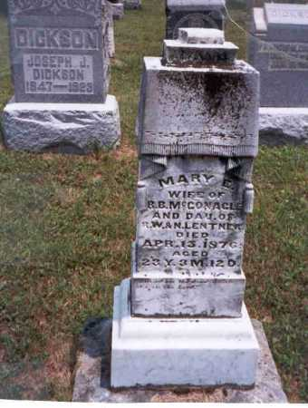 MCGONAGLE, MARY E. - Athens County, Ohio | MARY E. MCGONAGLE - Ohio Gravestone Photos