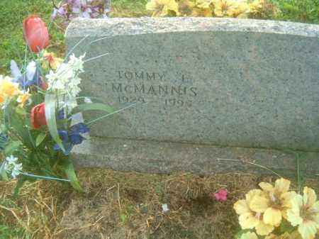 MCMANNIS, TOMMY L - Athens County, Ohio | TOMMY L MCMANNIS - Ohio Gravestone Photos