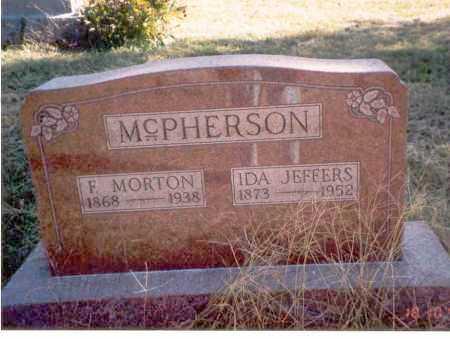 JEFFERS MCPHERSON, IDA - Athens County, Ohio | IDA JEFFERS MCPHERSON - Ohio Gravestone Photos