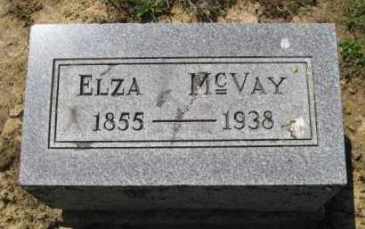 MC VAY, ELZA - Athens County, Ohio | ELZA MC VAY - Ohio Gravestone Photos