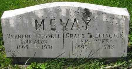 FULLINGTON MC VAY, GRACE - Athens County, Ohio | GRACE FULLINGTON MC VAY - Ohio Gravestone Photos