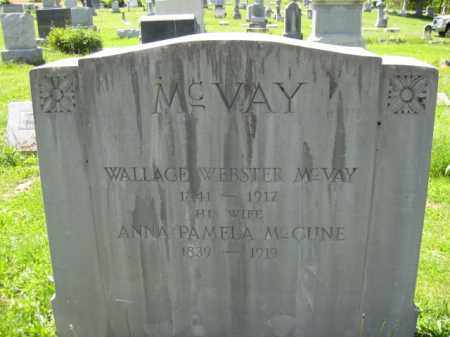MC VAY, WALLACE WEBSTER - Athens County, Ohio | WALLACE WEBSTER MC VAY - Ohio Gravestone Photos