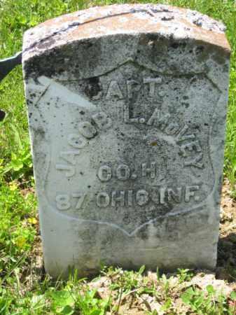 MC VEY, CAPT. JACOB L. - Athens County, Ohio | CAPT. JACOB L. MC VEY - Ohio Gravestone Photos